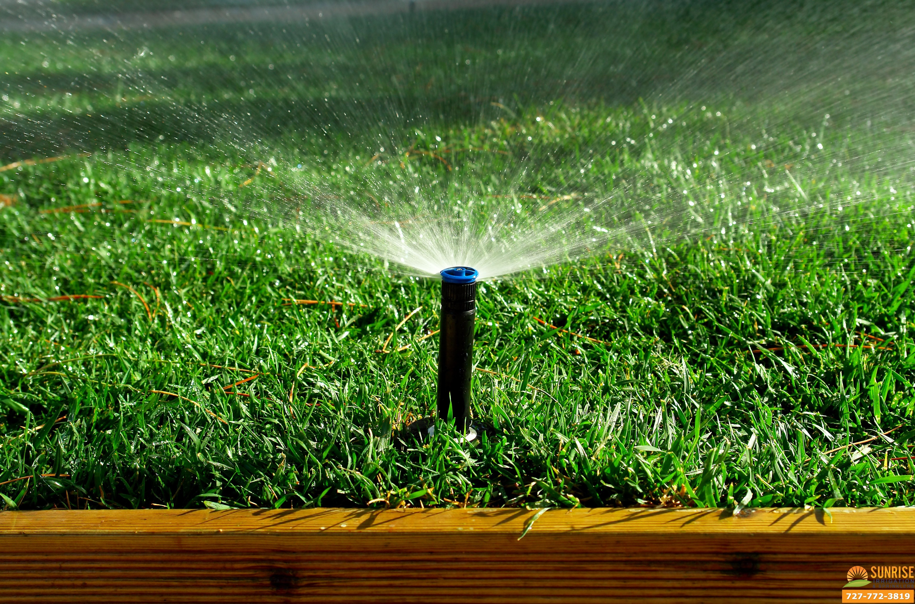 4 reasons to repair irrigation system