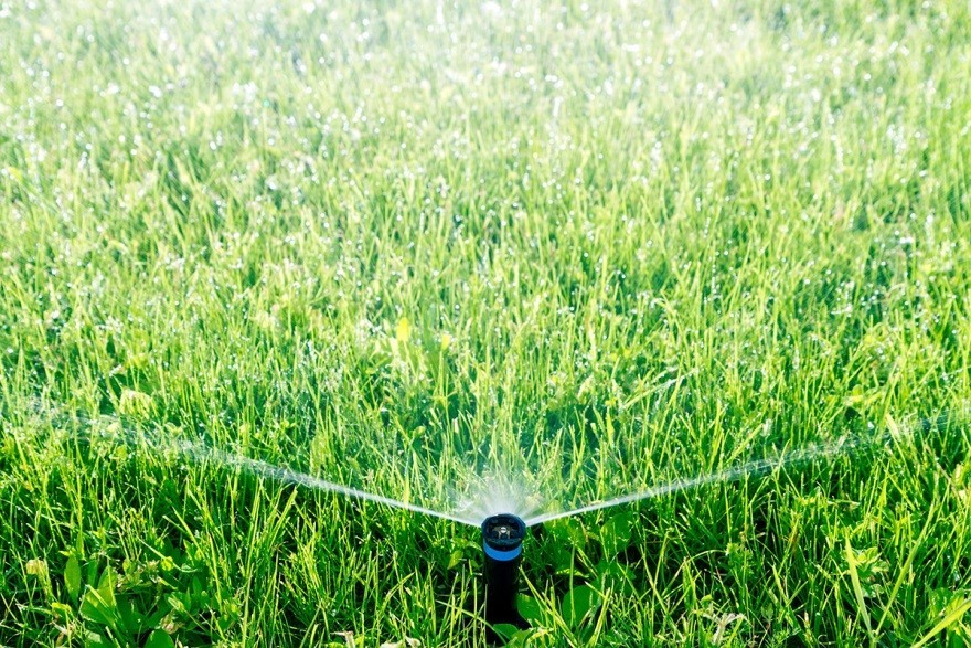 how to fix sprinkler head