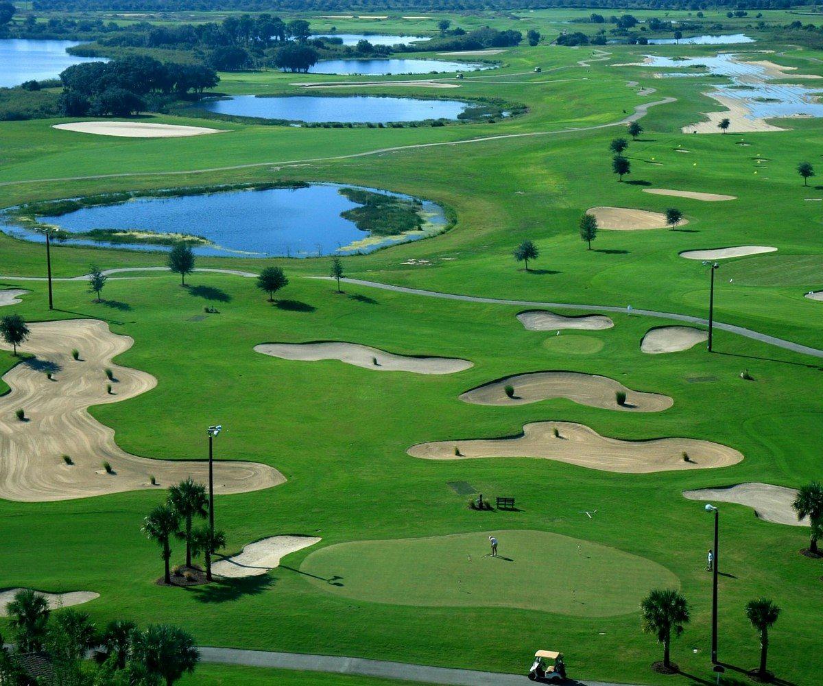 How Golf Courses Keep Their Fairways Green