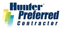 hunter sprinkler contractor