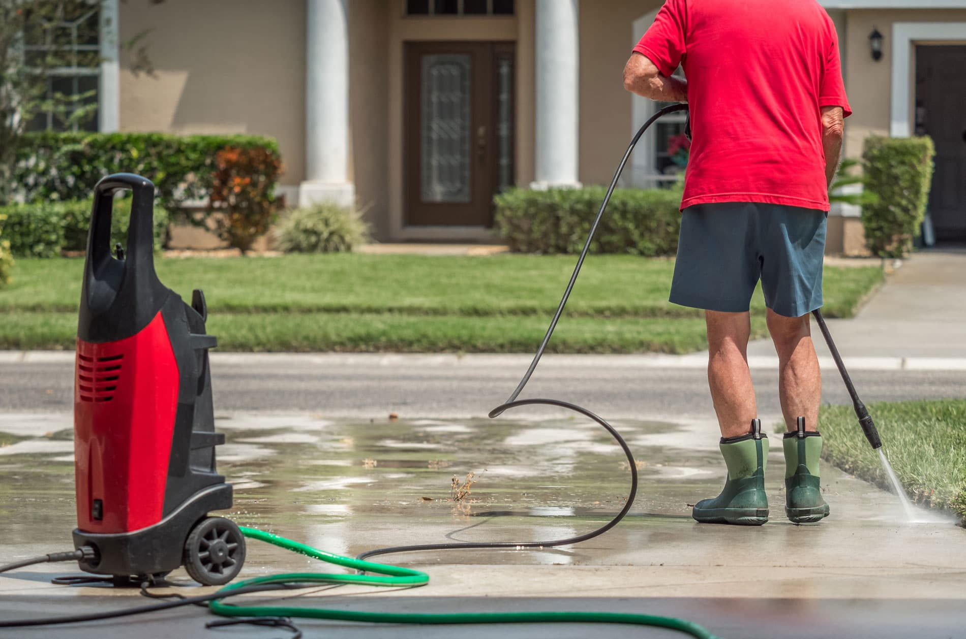Pressure Washing With Reclaimed Water